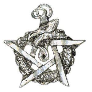amulet uroboros - zdjęcie wisiorka